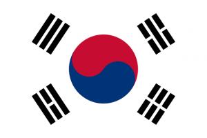 Jižní Korea - vlajka